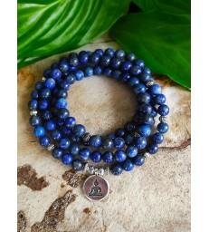 Bracelet Mala Lapis Lazuli