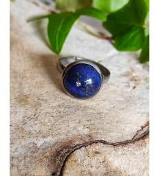 Bague en Lapis Lazuli  Ajustable