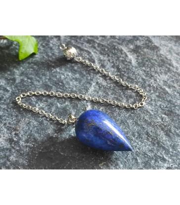 Pendule en pierre naurelle Lapis Lazuli