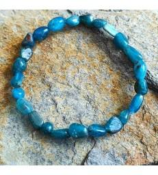 Bracelet Apatite Perle Irrégulière