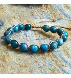 Bracelet Bohème en Apatite