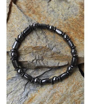 """Bracelet en Hématite '' Guérison """""""