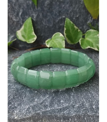 Bracelet Bohème en Aventurine Verte