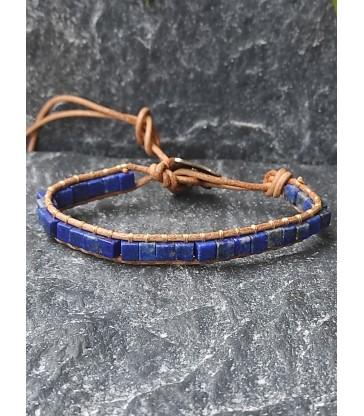Bracelet Bohème en Lapis Lazuli