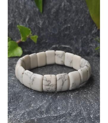 Bracelet Bohème en Howlite