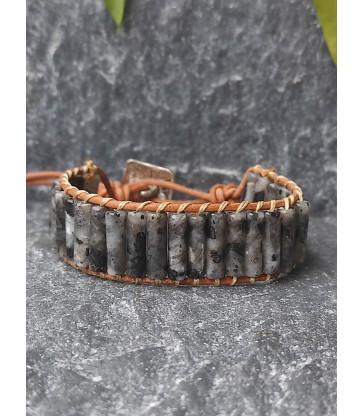 Bracelet Bohème en Labradorite