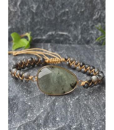 Bracelet Bohème Labradorite