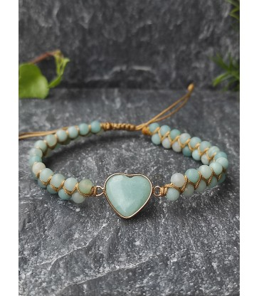 Bracelet Bohème Amazonite