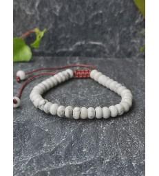 Bracelet Ajustable en pierre naturelle Howlite