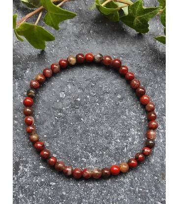Bracelet en Jaspe Rouge